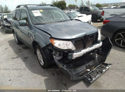 Salvage 2010 SUBARU FORESTER for sale