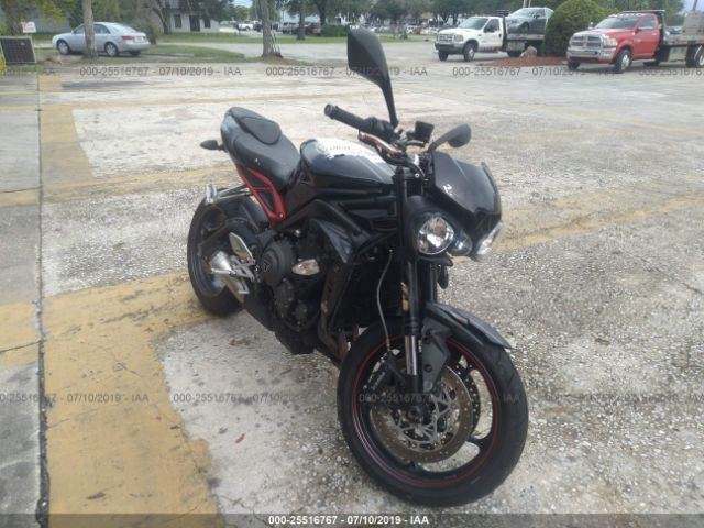 click here to view 2018 TRIUMPH MOTORCYCLE STREET TRIPLE at IBIDSAFELY