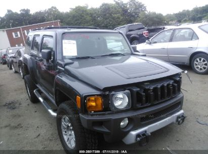 Salvage 2009 HUMMER H3 for sale