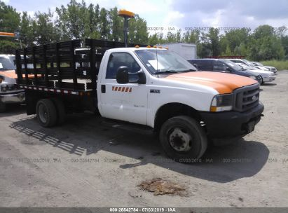 Salvage 2003 FORD F450 for sale
