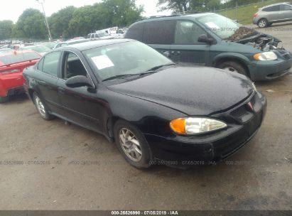 Salvage 2004 PONTIAC GRAND AM for sale