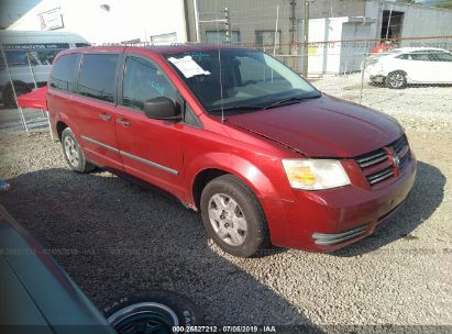 Salvage 2008 DODGE GRAND CARAVAN for sale