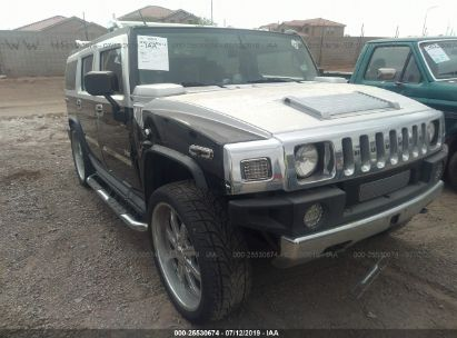 Salvage 2003 HUMMER H2 for sale