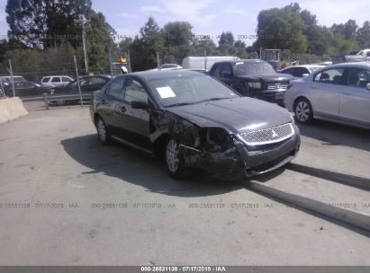 Salvage 2010 MITSUBISHI GALANT for sale