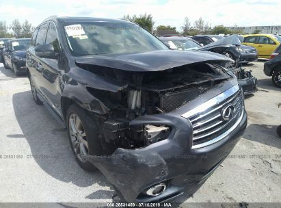 Salvage 2013 INFINITI JX35 for sale