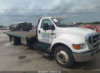 Salvage 2006 FORD F650 for sale