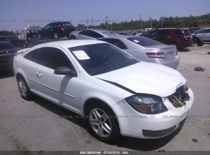 Salvage 2007 PONTIAC G5 for sale