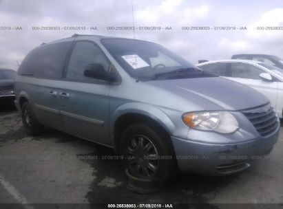 Salvage 2005 CHRYSLER TOWN & COUNTRY for sale