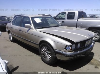 Salvage 1992 BMW 735 for sale