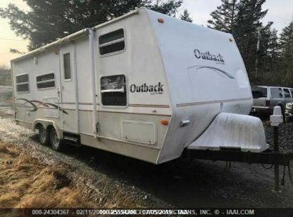 Salvage 2003 KEYSTONE OUTBACK for sale