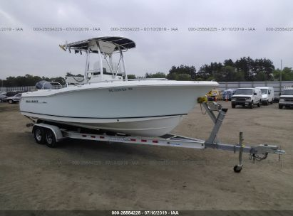 Salvage 2011 SEA HUNT 2332 ULTRA for sale