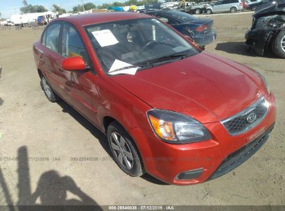 Salvage 2010 KIA RIO for sale