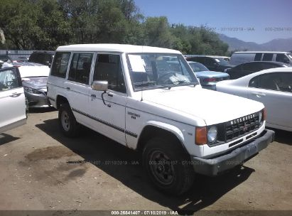 Salvage 1991 MITSUBISHI MONTERO for sale