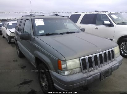 Salvage 1998 JEEP GRAND CHEROKEE for sale