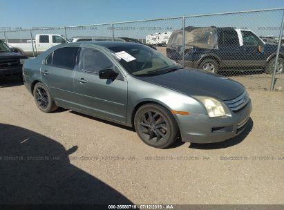 Salvage 2006 FORD FUSION for sale