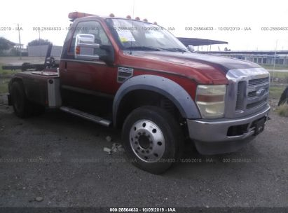 Salvage 2009 FORD F450 for sale