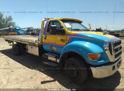 Salvage 2005 FORD F650 for sale