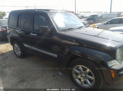 Salvage 2012 JEEP LIBERTY for sale