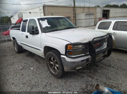 Salvage 2000 GMC NEW SIERRA for sale