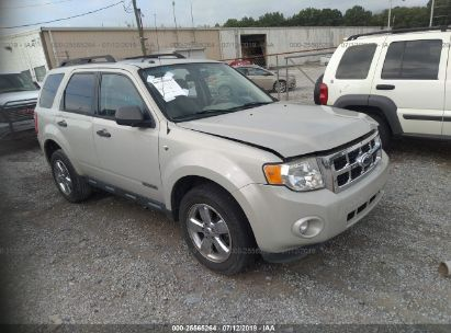 Salvage 2008 FORD ESCAPE for sale