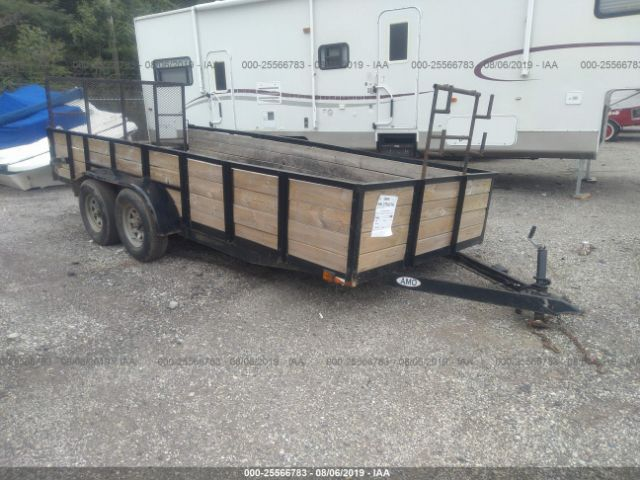 click here to view 2000 FLATBED TRAILER 8FT WITH RAMP at IBIDSAFELY