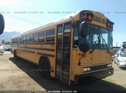 Salvage 2008 BLUE BIRD SCHOOL BUS / TRAN for sale
