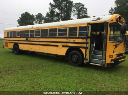 Salvage 2003 BLUE BIRD SCHOOL BUS / TRANSIT BUS for sale