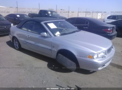 Salvage 2001 VOLVO C70 for sale