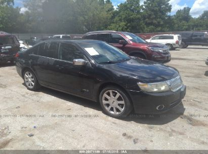 Salvage 2007 LINCOLN MKZ for sale