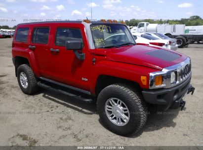 Salvage 2007 HUMMER H3 for sale