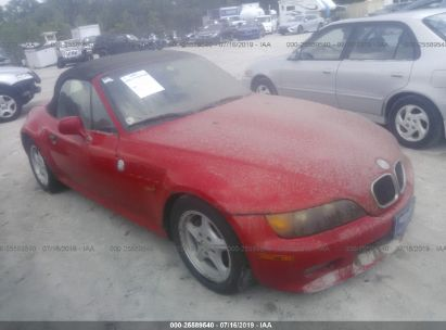 Salvage 1999 BMW Z3 for sale