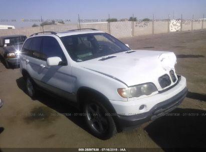 Salvage 2003 BMW X5 for sale