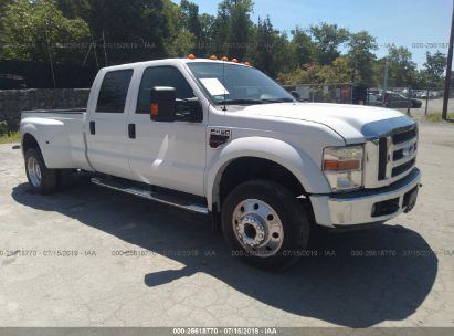 Salvage 2008 FORD F450 for sale
