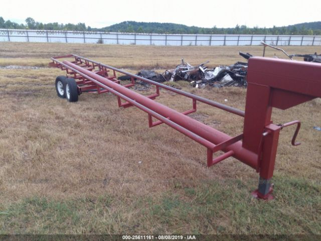 click here to view 2015 GOOSENECK TRAILERS FLIPPE HAY TRAILER at IBIDSAFELY