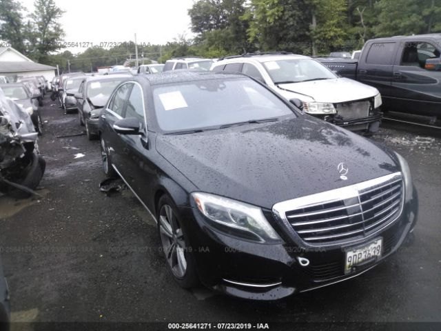 2014 MERCEDES-BENZ S - Small image. Stock# 25641271