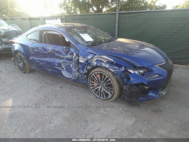 click here to view 2016 LEXUS RC-F at IBIDSAFELY