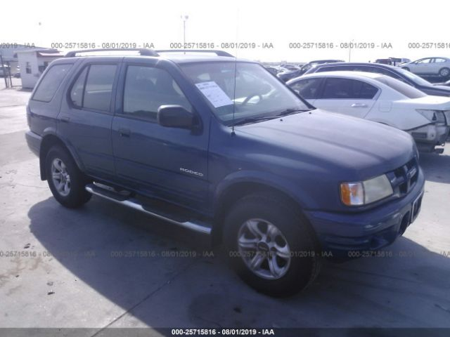 click here to view 2004 ISUZU RODEO at IBIDSAFELY