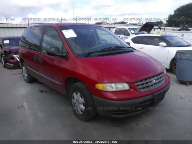 1996 PLYMOUTH VOYAGER - Small image. Stock# 25730082