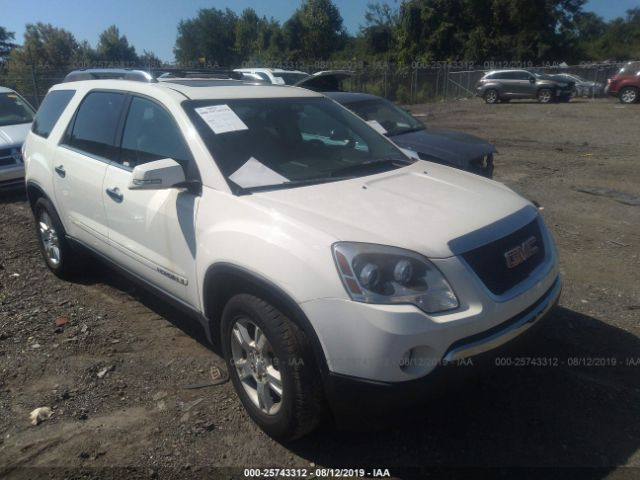 click here to view 2008 GMC LIGHT DUTY ACADIA at IBIDSAFELY