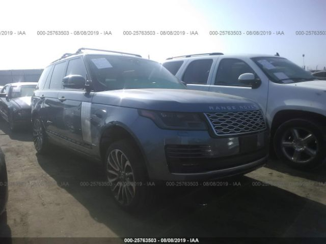 click here to view 2019 LAND ROVER RANGE ROVER at IBIDSAFELY