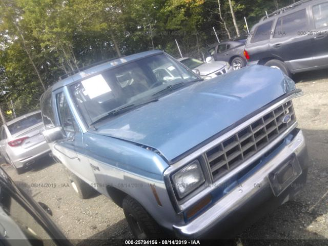 1988 FORD BRONCO II - Small image. Stock# 25794156