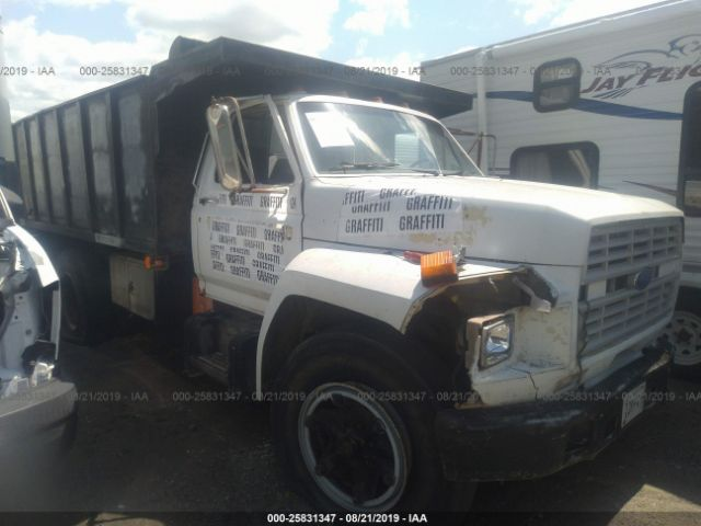 1986 FORD F6000 - Small image. Stock# 25831347