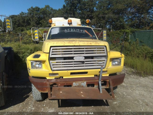 1991 FORD F600 - Small image. Stock# 25861593