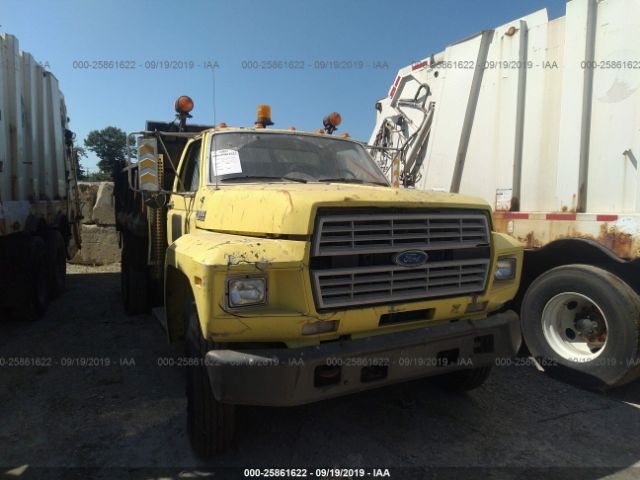 1991 FORD F600 - Small image. Stock# 25861622