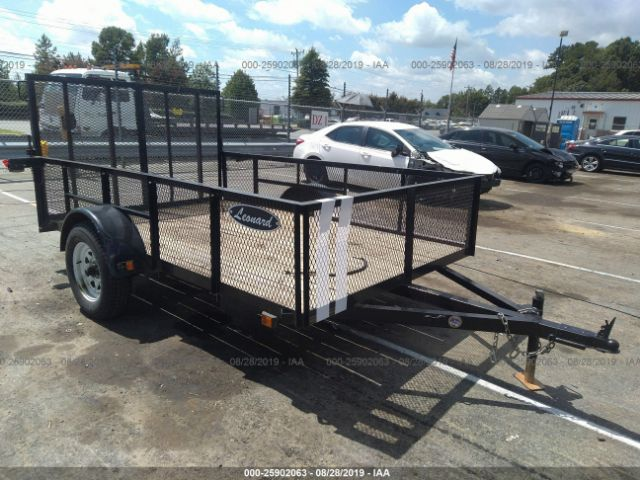 click here to view 2016 LEONARD 6X10 SINGLE AXLE at IBIDSAFELY