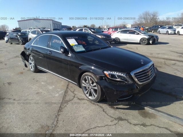 2014 MERCEDES-BENZ S - Small image. Stock# 25902938