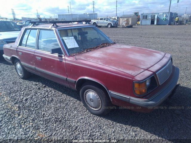 click here to view 1985 PLYMOUTH RELIANT at IBIDSAFELY