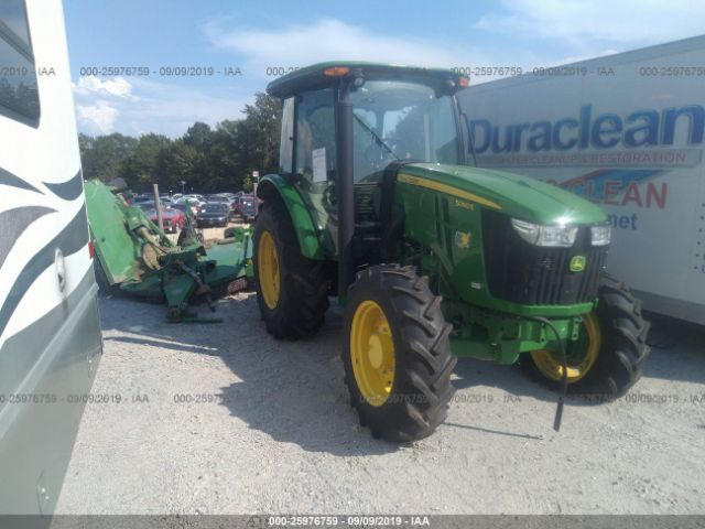 click here to view 2019 JOHN DEERE 5090E TRACTOR AND MOWER at IBIDSAFELY
