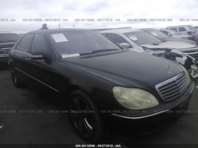 2004 MERCEDES-BENZ S - Small image. Stock# 26118598