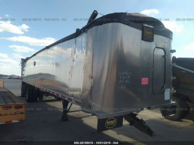 2015 MAC TRAILER MFG DUMP - Small image. Stock# 26155010